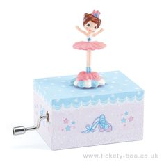 Ballerina On Stage Music Box by Djeco