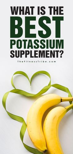 What Are The Best Potassium Supplements Brands? Looking for potassium supplements? Check out our list to find out the best ones to use to increase your potassium. - The Fitness Tribe Potassium Benefits, Potassium Deficiency, High Potassium Foods, Best Supplements, Weight Loss Supplements, Healthy Food To Lose Weight, Health Articles, Best Diets