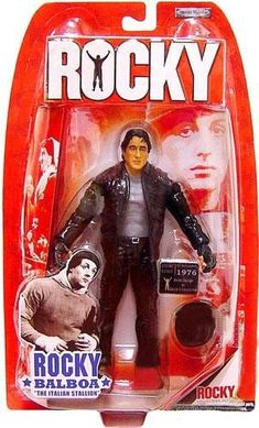 Rocky Collectors Series Action Figure - Rocky Balboa As Gazzo's Collector Vintage Toys 80s, Retro Toys, Vintage Dolls, Cartoon Toys, Rocky Balboa, Sports Toys, Sylvester Stallone, Sideshow Collectibles, Barbie World