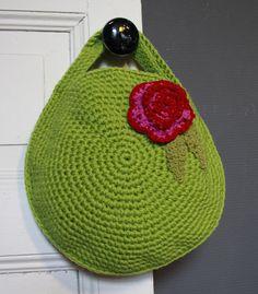 Handbag Tote Bags Purse Crochet Knit