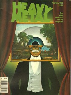 item details: Entire Issuekeywords: Patrick Couratin, Jim Burns, Steve Bissette, Howard Cruse All of our vintage magazines have been stored in a dry, acid free environment.