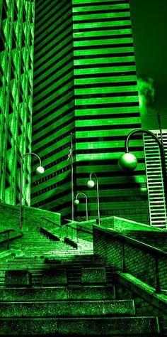 Climbing in the Emerald City Photograph by David Patterson……réepinglé par Maurie Daboux ༺༻⊰✿