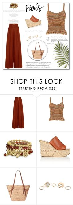 """Weekend Lunch"" by lily0906 ❤ liked on Polyvore featuring Christian Siriano, George J. Love, BillyTheTree, Chloé, Chaps, H&M and GUESS"