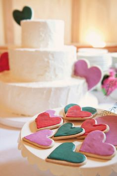 Heart heart cookies