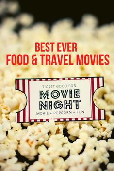 If you're looking for some wonderful movies to watch that will inspire and introduce you to new places and dishes we've got your list.  #TravelMovies #FoodMovies