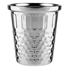 Buy Wild & Wolf Giant Thimble Desk Tidy, Silver Online at johnlewis.com