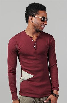The Wake Up Naked Thermal Henley by Apliiq