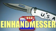 Einhandmesser aus Taiwan mit U.S.A Logo sehr gutes Handling besser wie bei vielen Markenmessern