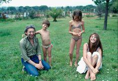 Serge Gainsbourg Jane Birkin Charlotte Kate