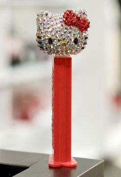 Limited Edition Hello Kitty Bejeweled Pez Dispenser