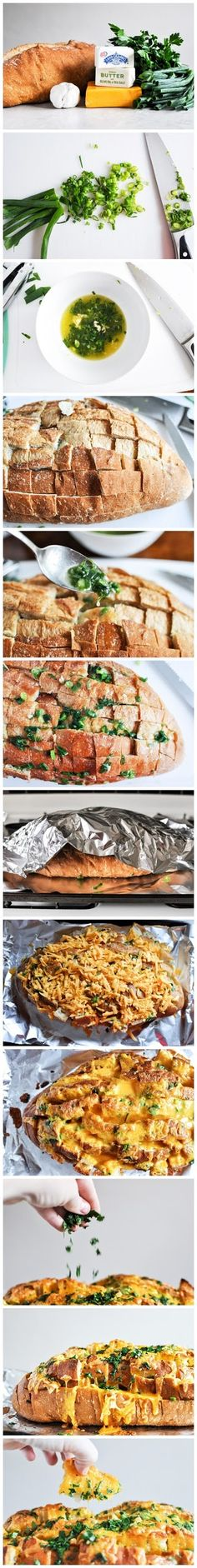 joysama images: Cheddar Tailgating Bread