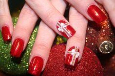 Déco ongles Noël et nouvel an- 49 inspirations exquises