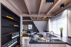 Apartament w Zakopanem - projekt Bartek Włodarczyk - kuchnia