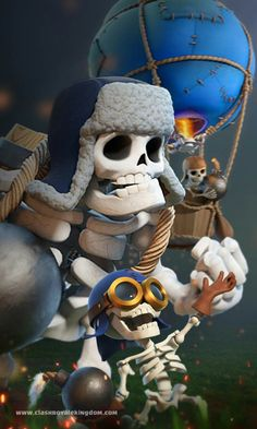 Giant skeleton And Bomber Coc Clash Of Clans, Clash Of Clans Hack, Royal Wallpaper, Wallpaper Backgrounds, Desenhos Clash Royale, Giant Skeleton, Mobile Wallpaper Android, Royale Game, Pix Art