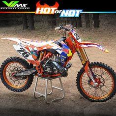 Hot or not? Ktm Dirt Bikes, Cool Dirt Bikes, Dirt Bike Gear, Mx Bikes, Motorcycle Dirt Bike, Moto Bike, Racing Motorcycles, Motocross Love, Enduro Motocross