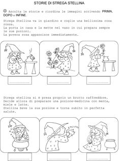 STORIA :: Maestro-Cris Letter Activities, Kindergarten Activities, Activities For Kids, I School, Primary School, Back To School, Italian Lessons, Powerpoint Template Free, Reading Worksheets