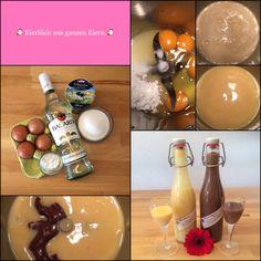 *** Eierlikör aus ganzen Eiern ***  … schnell gemacht und ohne Eiweißreste! (+Varianten)    Das Leben ist zu kurz, um schlechten Wein zu trinken!