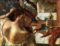 Woman with Tattoos by Edgar Degas