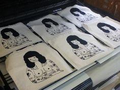 Charline Giquel - Screen Printing http://charlinegiquel.tumblr.com