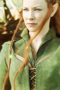 I think everyone needs to take a chill pill who hate Tauriel, like, I think she was a nice addition to the film, a bit female badassery.