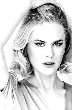 Nicole Kidman / Black and White Photography