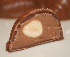 La Cuisine de Bernard : Chocolats Fourrés Gianduja