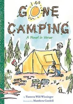 Hiking in the great outdoors, catching fish, watching the stars come out at night camping is fun. Until it s time to sleep. Then, Lucy wonders, what kinds of creatures lurk in the dark? With only her brother and grandpa as tent-mates, will Lucy be able to face her camping fears? Filled with a variety of poetic forms from aubade to haiku as well as exuberant art and helpful writing tips about rhyme and rhythm, this entertaining companion totheaward-winning Gone Fishing is packed with family…