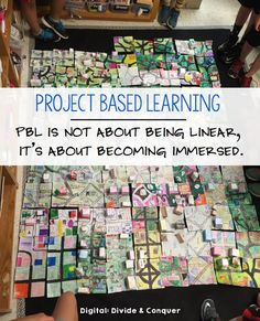It may not seem like it, but project-based learning is the perfect way to meet all of your students' needs. There are a variety of ways in which project-based learning can be implemented and tweaked to do just that. Problem Based Learning, Inquiry Based Learning, Project Based Learning, Learning Activities, Kindergarten Inquiry, Kindergarten Projects, Children Activities, Preschool Curriculum, School Projects