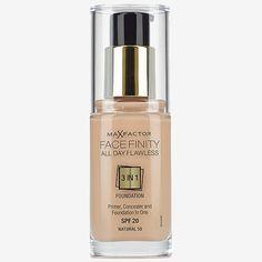 Max Factor Face Finity 3in1 Primer, Concealer & Make-Up
