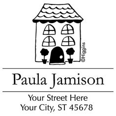 House Stamp | Checks In The Mail Real Estate Agency, Lowercase A, Stamp, Messages, House, Real Estate Office, Home, Stamps