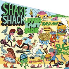 coming up for Shake Shack UES !