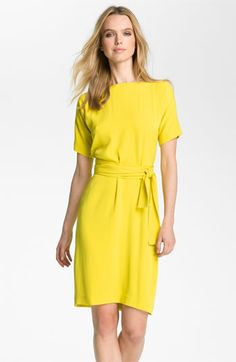 "DVF ""Shannon"" Silk Wrap Dress... just because of the name it needs to be in my closet"