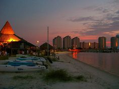 Juanas Pagodas Navarre Beach Florida, my home away from home..i miss it