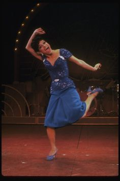 in a scene from the Broadway production of the musical 'Ain't Misbehavin'.
