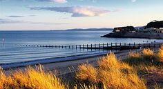 Dawlish, Devon, Costa, Beach, Costiera