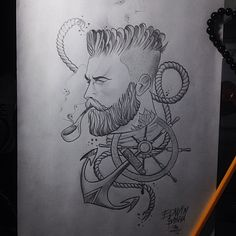 Sailor anchor timon by Edwin basha