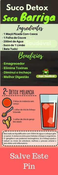 Emagreça de 2 a 5 Kg em 7 Dias de Forma Simples, Saudável e Definitiva com est… Lose 2 to 5 Kg in 7 Days Simply, Healthy and Definitely with these Detox Recipes! The detox weight loss method revealed ! Learn how to access this Pin ! Week Detox Diet, Dietas Detox, Lemon Detox, Detox Diet Plan, Cleanse Diet, Stomach Cleanse, Bath Detox, Smoothies Detox, Detox Diet Drinks