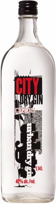 City Dry Gin PD