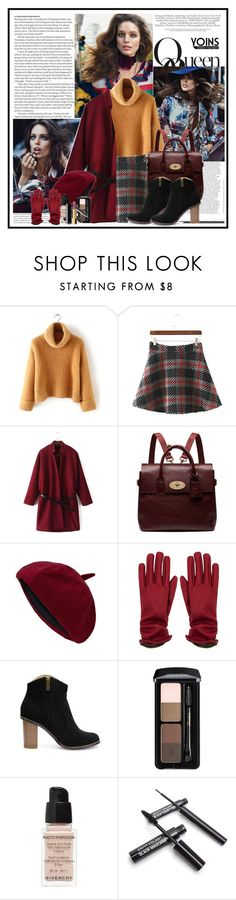 """Yoins 3...."" by cindy88 ❤ liked on Polyvore featuring ASOS, Mulberry, Givenchy, Chanel and yoins"