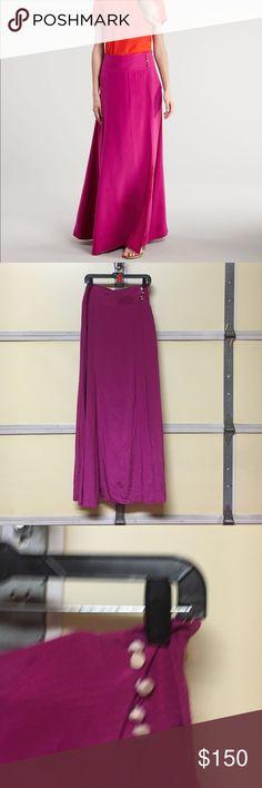 Tory burch maxi skirt Sz 10 Retails at $450 full length silk skirt Tory Burch Skirts Maxi