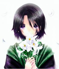 Snape and lilies