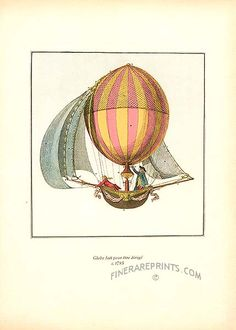 Antique print: picture of Globe fait pour etre dirige, c.1785 -