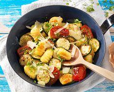 Rezept: Zucchini-Gnocchi-Pfanne