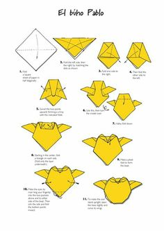 Ideas Origami Animals Instructions Watches For 2019 Origami Owl, Origami Star Box, Origami Envelope, Origami Dragon, Origami Paper Art, Origami Fish, Origami Ideas, Origami Folding, Paper Folding