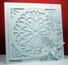 White on White jhg 9_14 by jojot - Cards and Paper Crafts at Splitcoaststampers