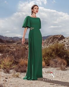 Party dress, Cocktail Dresses, Mother of the bride dresses. Complete Spring-Summer Scarlett Collection Sonia Peña - Ref. Bridesmaid Dresses, Prom Dresses, Formal Dresses, Wedding Dresses, Bride Dresses, Lovely Dresses, Elegant Dresses, Godmother Dress, Green Dress