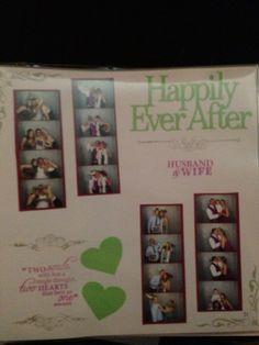 Wedding Photobooth Scrapbook