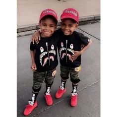 Black Baby Boys, Cute Black Babies, Beautiful Black Babies, Cute Twins, Black Kids, Cute Babies, Baby Boy Swag, Kid Swag, Cute Baby Boy