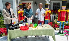 DIY Nutcracker Soldiers with @kennethwingard! Tune in to #homeandfamily weekdays at 10/9c on Hallmark Channel!