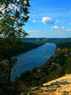 Reach the top of Mt. Bonnell for a view that can't be missed.